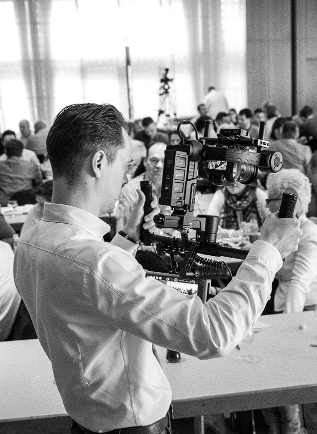 Experte für cinematisches Storytelling Christian Schu filmt in 4k mit DJI Ronin